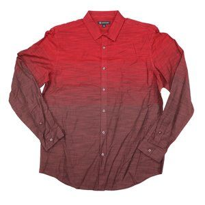INC International Concepts Ombre Button Down Shirt